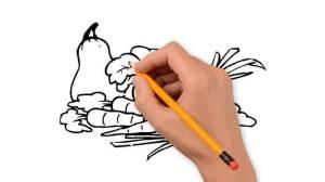 vegetables pencil drawings drawing mushroom draw step nature clipartmag