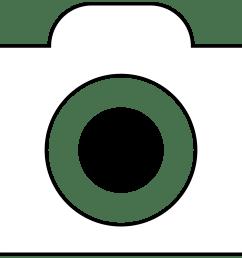 2427x1869 camera clipart line art [ 2427 x 1869 Pixel ]
