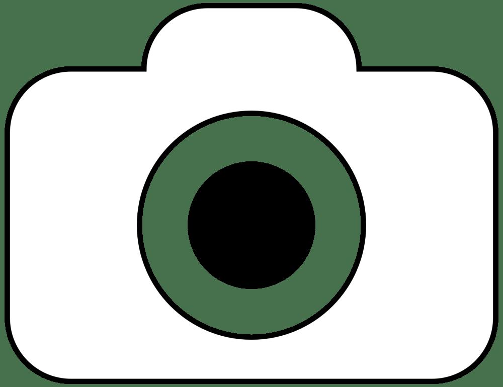 medium resolution of 2427x1869 camera clipart line art