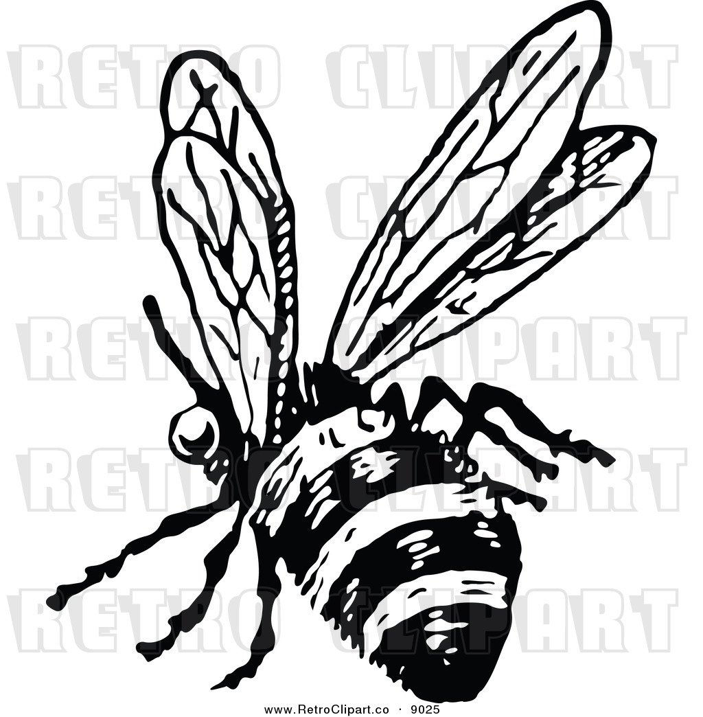 Vintage Beehive Clipart