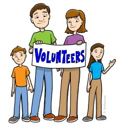 1200x1200 volunteers clip art black and white free clipart [ 1200 x 1200 Pixel ]