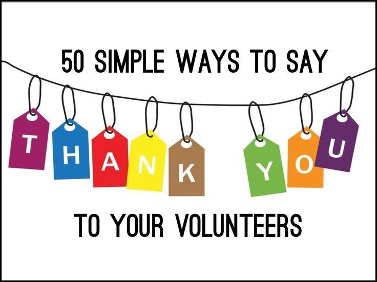 Volunteers Thanks | Free download best Volunteers Thanks on ...
