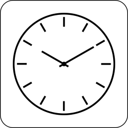 clock clipart simple clip icon square wall icons vector cliparts clocks line transparent svg 2pm drawing graphic clipartmag clipground microsoft