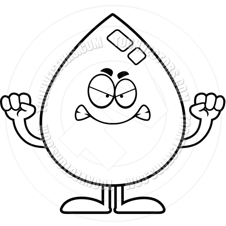 medium resolution of 940x940 cartoon water drop angry black and white line art by cory thoman