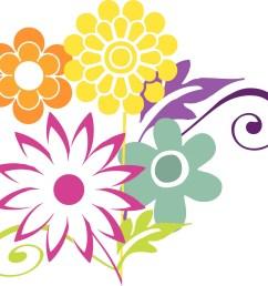 1600x1525 bouquet clipart april flower [ 1600 x 1525 Pixel ]