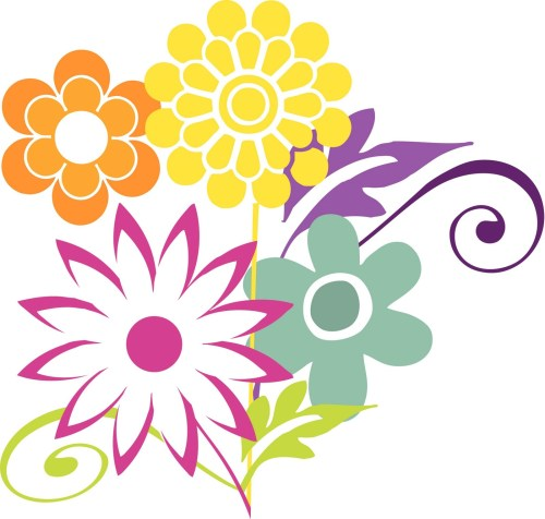small resolution of 1600x1525 bouquet clipart april flower