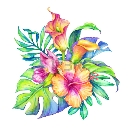 watercolor floral clipart free