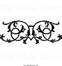 1024x1044 bridal clipart of a black and white ornate floral wedding [ 1024 x 1044 Pixel ]