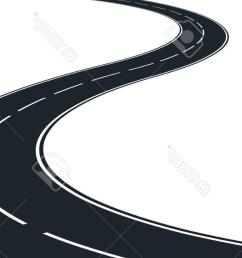 1300x710 best hd isolated winding road clip art illustration stock vector [ 1300 x 710 Pixel ]