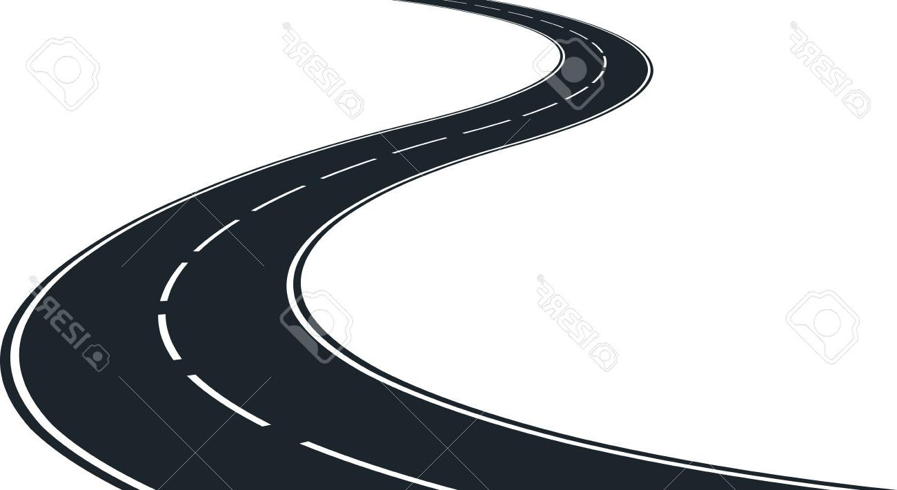 hight resolution of 1300x710 best hd isolated winding road clip art illustration stock vector