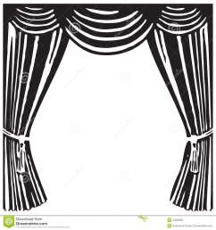 1300x1390 curtains clipart black and white [ 1300 x 1390 Pixel ]