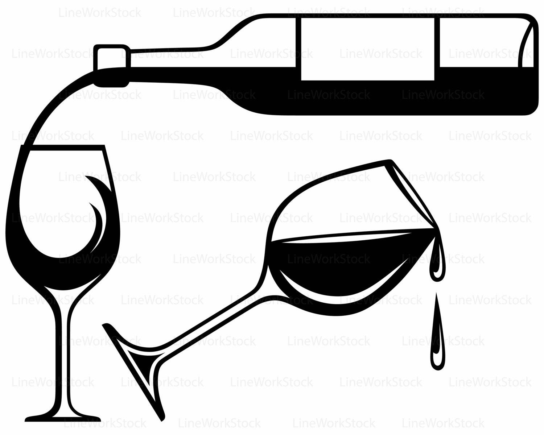 Wine Bottle Clipart