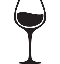 1400x980 black clipart wine glass [ 1400 x 980 Pixel ]