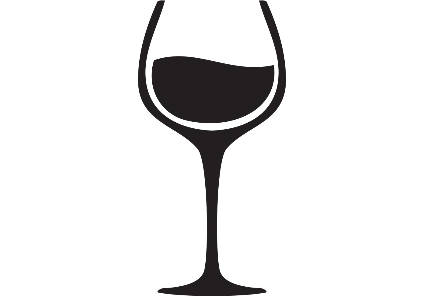 hight resolution of 1400x980 black clipart wine glass