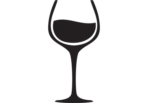 small resolution of 1400x980 black clipart wine glass