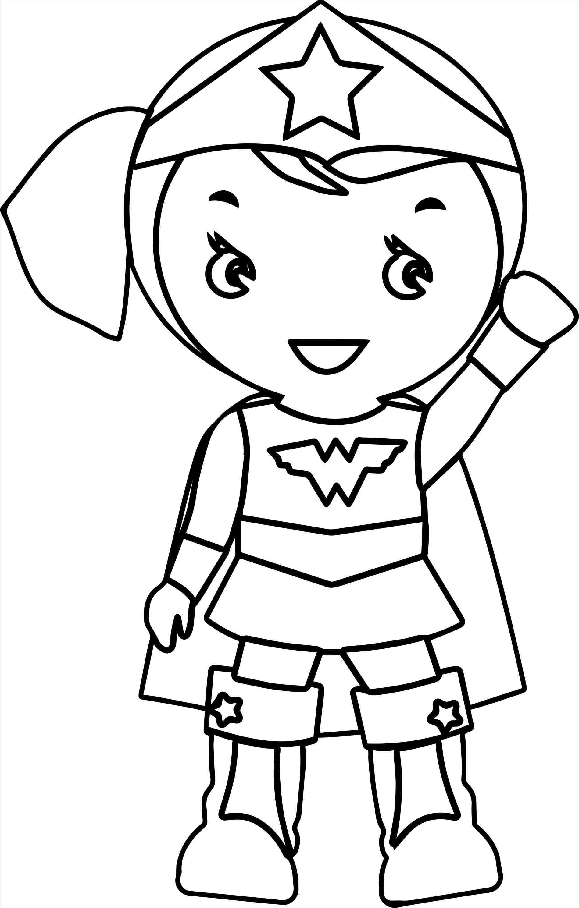 Wonder Woman Cartoon Clipart