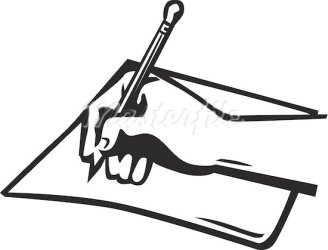 pen writing clipart paper clip letters clipartmag cliparts report samples