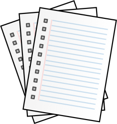 clipart paper pages clip note lined take papers test stacked writing notes outline stack graphic library pixabay english clipartpanda clipartmag