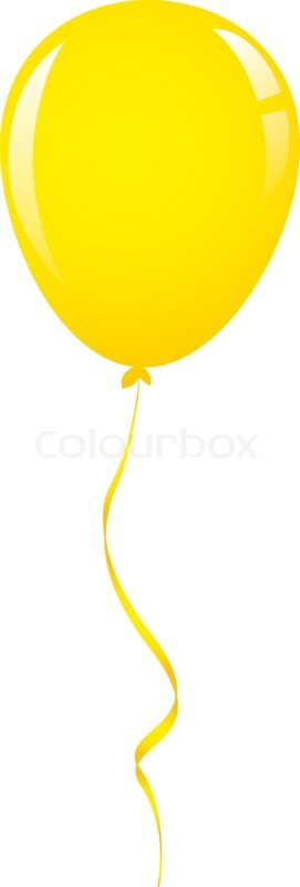 yellow balloon cliparts free