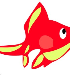999x811 red and yellow fish clipart free clipart design download [ 999 x 811 Pixel ]