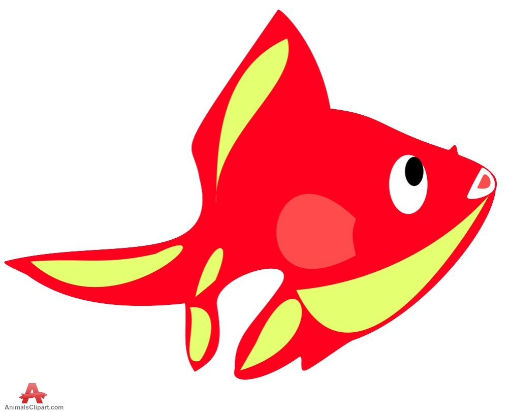 medium resolution of 999x811 red and yellow fish clipart free clipart design download