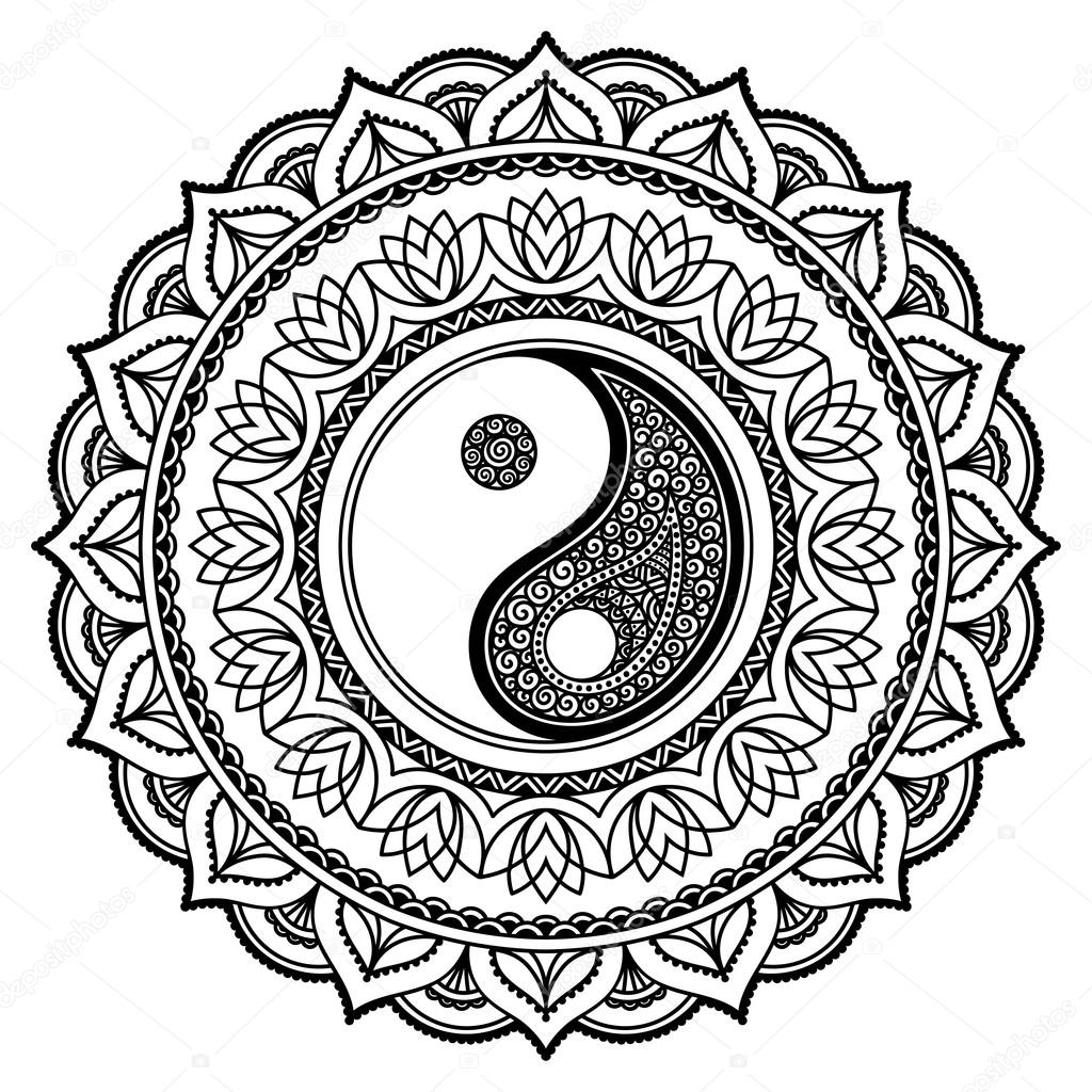 Yin Yang Coloring Pages Free Download Best Yin Yang Coloring Pages