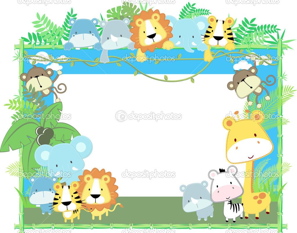 zoo border clipart free
