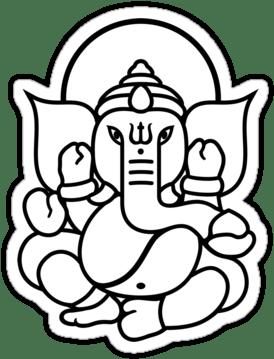 Ganesh Drawing For Kids : ganesh, drawing, Simple, Ganesha, Drawing, Ganesh, Images, (375x360), Clipart, Download