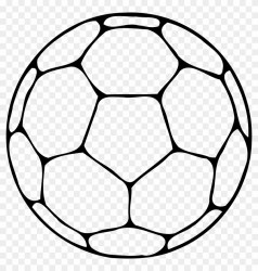 Volleyball Outline Clip Art Ball Clipart Black And White Free Transparent PNG Clipart Images Download