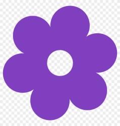 Spring Flowers Clip Art Purple Flower Clipart Free Transparent PNG Clipart Images Download