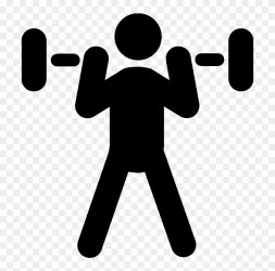 Weightliftingicon2 Weight Training Icon Png Free Transparent PNG Clipart Images Download
