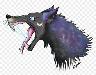 Galaxy Wolf By Chachadrawing On Deviantart Galaxy Wolf Art Free Transparent PNG Clipart Images Download