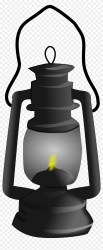 Gas Lamp Clipart Black And White