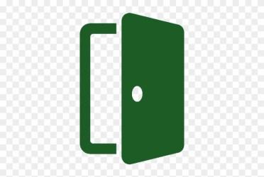 Open Door Green Png Free Transparent PNG Clipart Images Download
