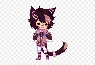 mini Chibi Commission Anime Wolf Boy Chibi Free Transparent PNG Clipart Images Download
