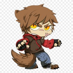 Were chibi By Touken2 Anime Wolf Boys Png Free Transparent PNG Clipart Images Download