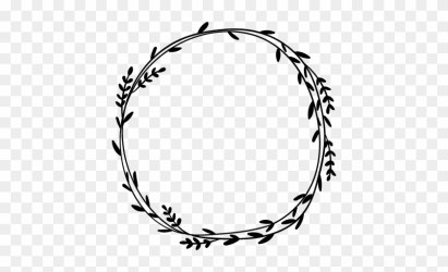 Circular Vector Leaves Frame Free Transparent PNG Clipart Images Download