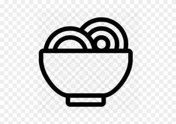Food Noodle Bowl Meal Soup Eat Icon Food Free Transparent PNG Clipart Images Download