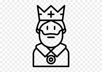 King Clipart Black And White King Black And White Png Free Transparent PNG Clipart Images Download