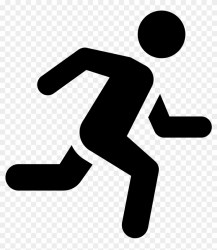 Computer Icons Running Man Clip Art Running Icon Free Transparent PNG Clipart Images Download