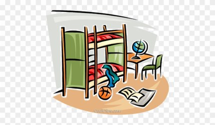 Bedroom Clipart Bunk Bed Tidy Room Clipart Png Free Transparent PNG Clipart Images Download
