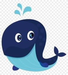 Cartoon Blue Whale Illustration Blue Whale Cartoon Free Transparent PNG Clipart Images Download