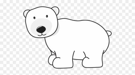 polar bear clipart cartoon kid transparent