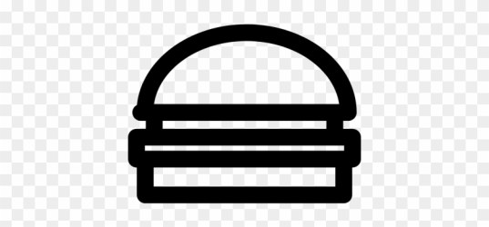Hamburger Meal Vector Hamburger Outline Icon Free Transparent PNG Clipart Images Download