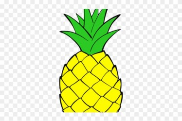 Pineapple Clipart Christmas Pineapple Outline Free Transparent PNG Clipart Images Download