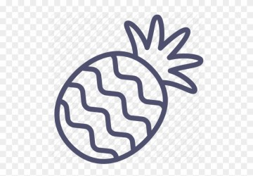Download Pineapple Outline Clipart Pineapple Clip Art Pine Apple Outline Png Free Transparent PNG Clipart Images Download