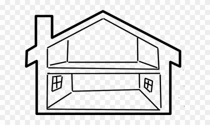 Svg Library Library Collection Of Inside Empty House Clip Art Free Transparent PNG Clipart Images Download