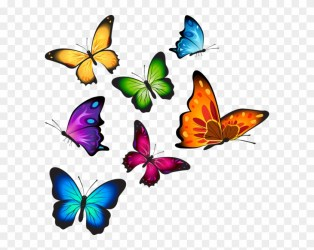 Clip Art Watercolor Transparent Background Butterfly Clipart Free Transparent PNG Clipart Images Download