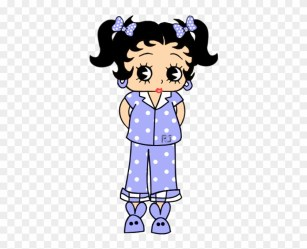 Bed Time Betty Boop Cartoon Pink Outfits Bedtime Betty Boop Free Transparent PNG Clipart Images Download