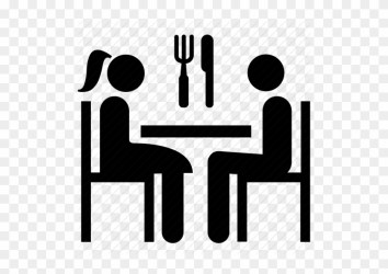 Date Dining Meal Restaurant Eating In Restaurant Icon Free Transparent PNG Clipart Images Download